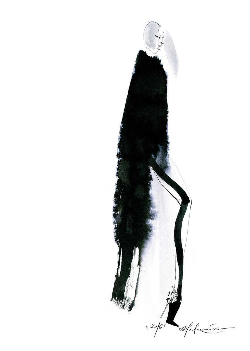 © Anna Halarewicz | Fashion Illustration design | Poland | 2016