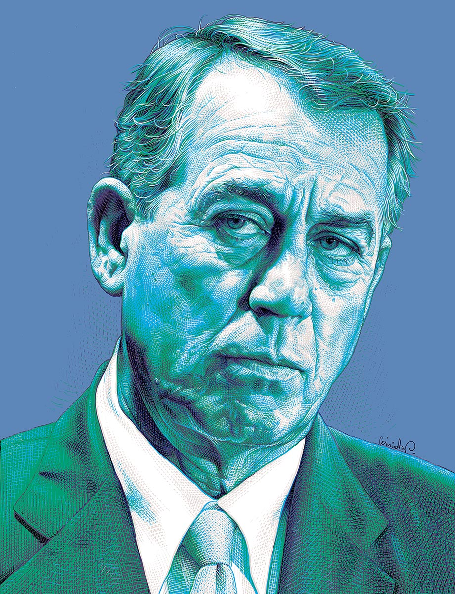 © Piotr Leśniak | John Boehner | POLITICO Magazine | The United States | January 2015