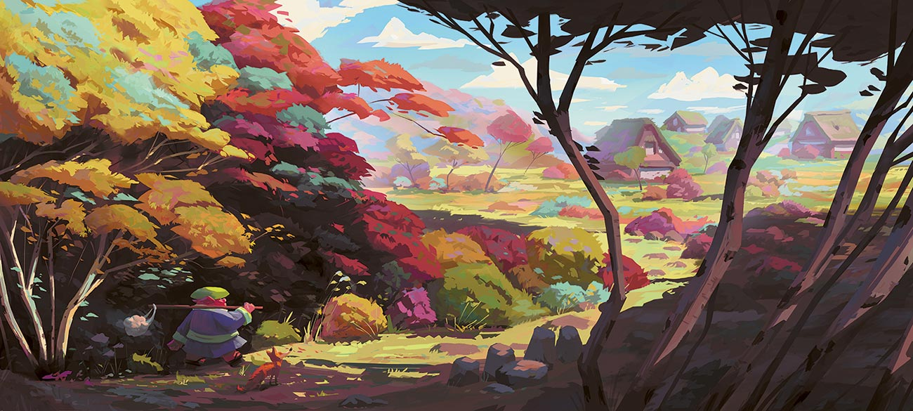 © Sławek Fedorczuk | Autumn leaves | Japanese autumn is rich with some truly amazing colour mixtures. The author implicates the colours with the protagonists. | 2016