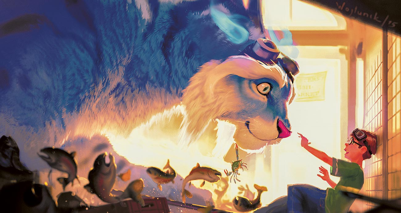 © Rafał Wojtunik / The Impossible Journey | Kitty is lovely | Concept for a short movie. | 2015