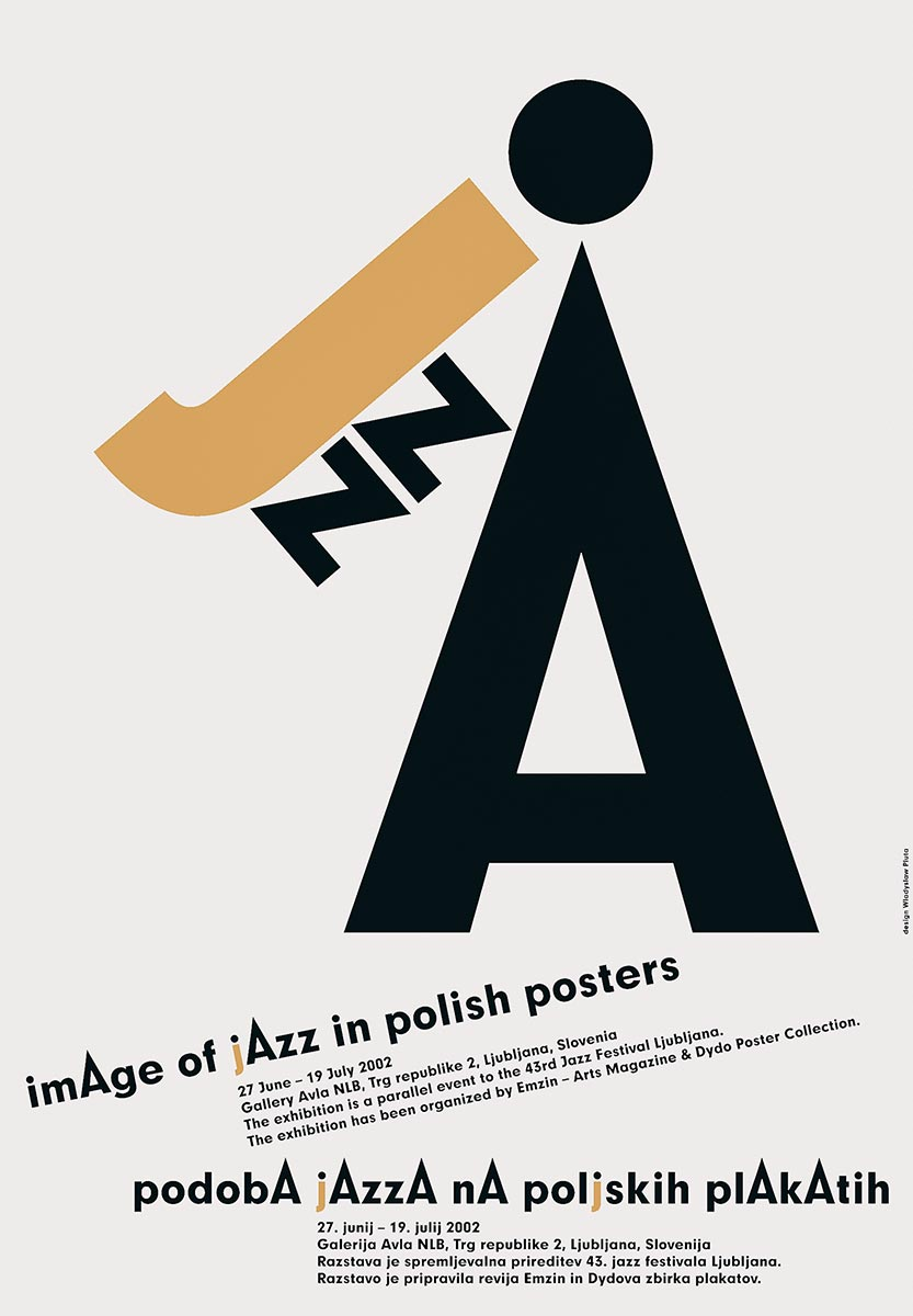 © Władysław Pluta | Jazz | Dydo Poster Collection in Krakow | 2002