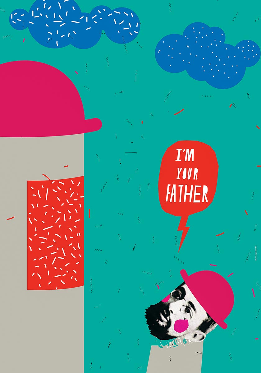 © Nikodem Pręgowski | I'm your father | Plakat autorski | 2014