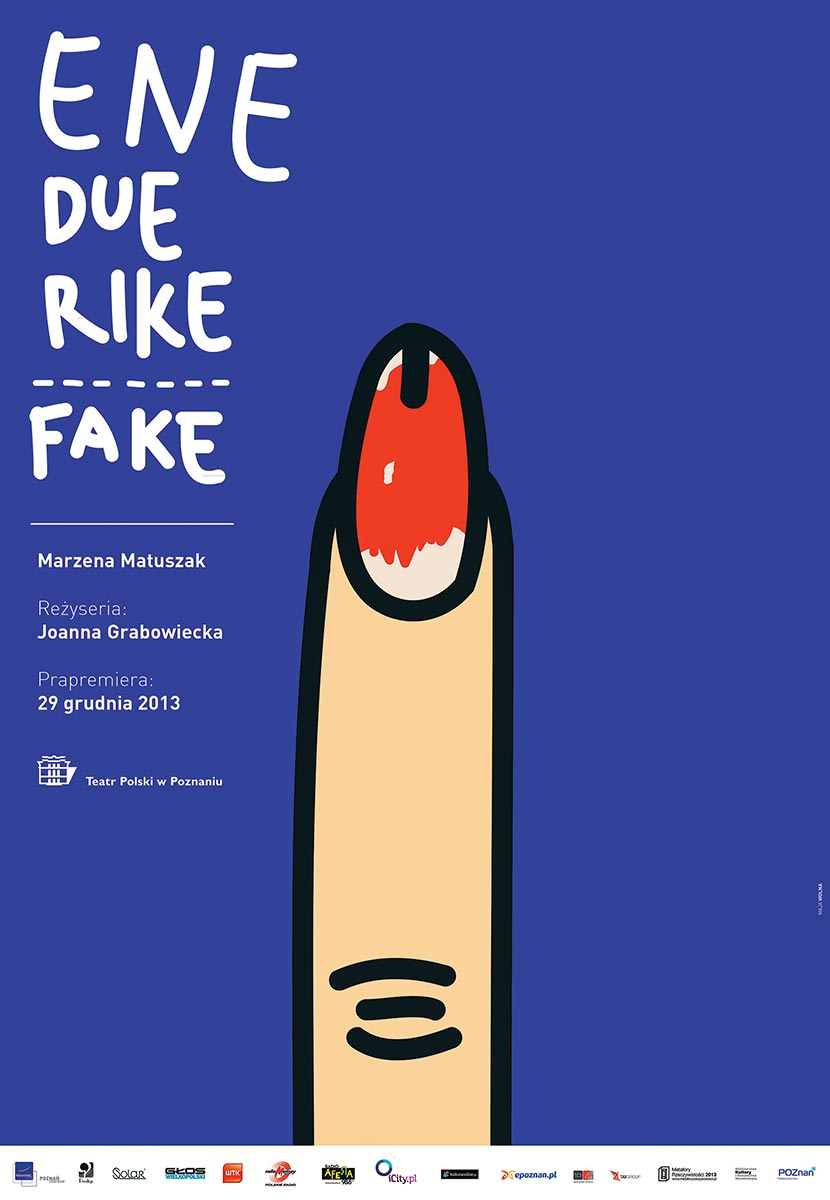 © Maja Wolna | Ene due rike fake | Polish Theatre in Poznań | 2013